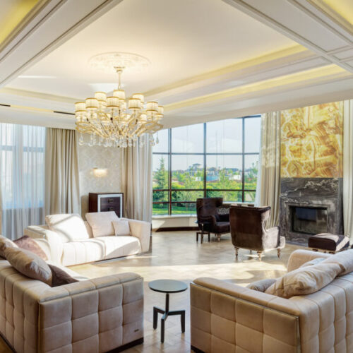 Photo of a high net worth living room - M&N Insurance