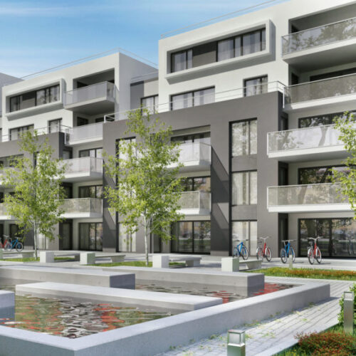 Photo of modern apartments - M&N Insurance