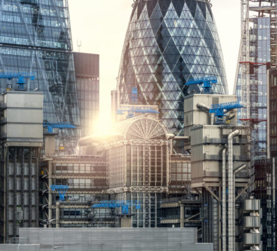 Photo of central London skyline - M&N Insurance